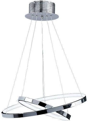 Lampa wisząca Kline KLINE-2CH Endon nowoczesna oprawa w kolorze chromu