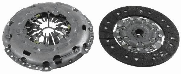komplet sprzęgła Luk - 2.0 TDCI