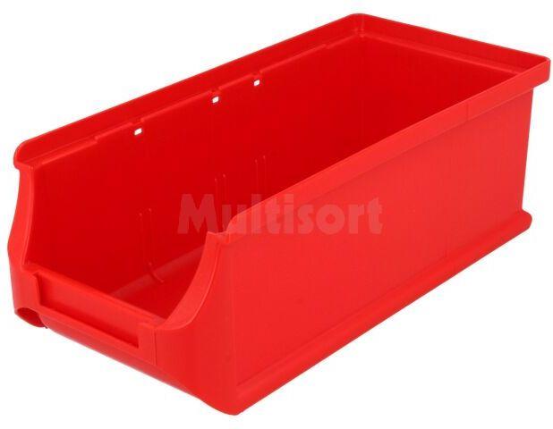 Pojemnik warsztatowy 75x102x215mm czerwony plastik