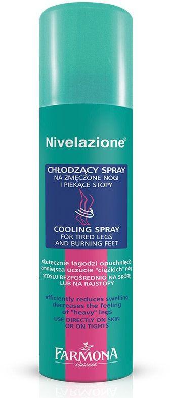 NIVELAZIONE Chłodzący spray na zmęczone i piekące stopy 150ml