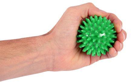 Piłeczka rehabilitacyjno-relaksacyjna z kolcami - 7 cm (kolczatka)