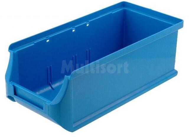 Pojemnik warsztatowy 75x102x215mm niebieski plastik