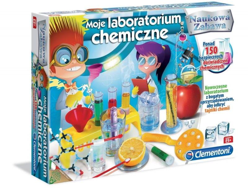 Laboratorium chemiczne Clementoni nauka i zabawa