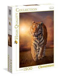 """Clementoni 31806"""" puzzle tygrysie 1500 części wysokiej jakości kolekcja"""