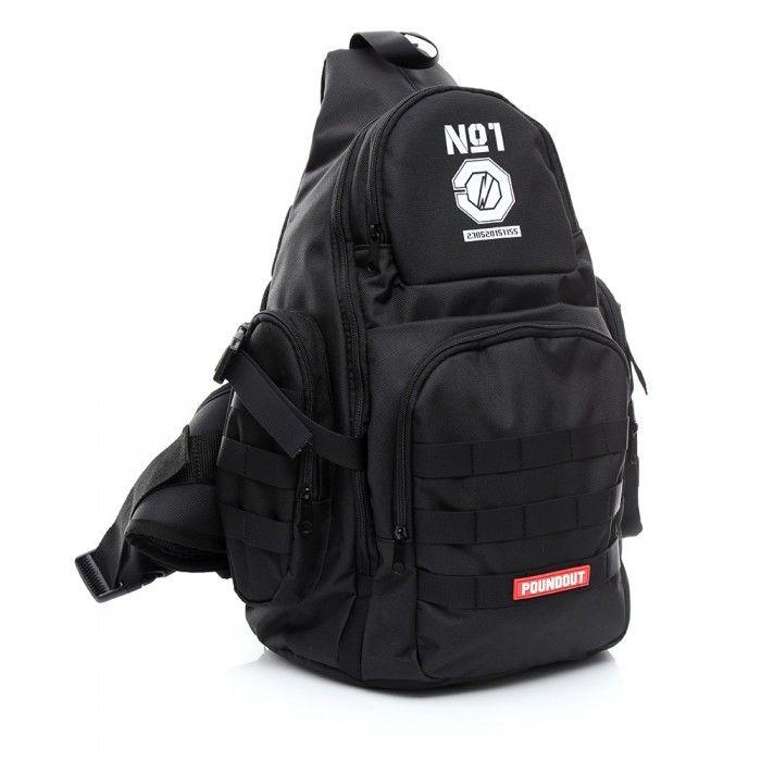 Poundout plecak sportowy POUNDOUT czarny