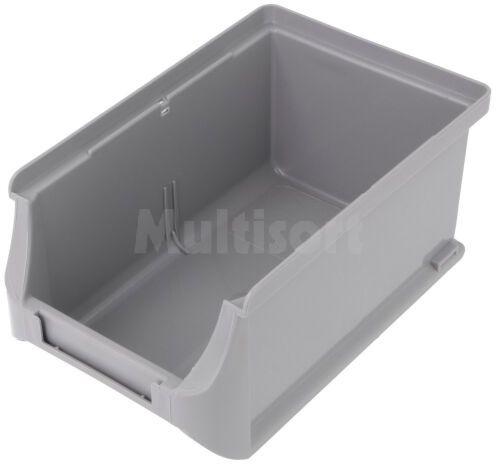Pojemnik warsztatowy 75x102x160mm szary plastik