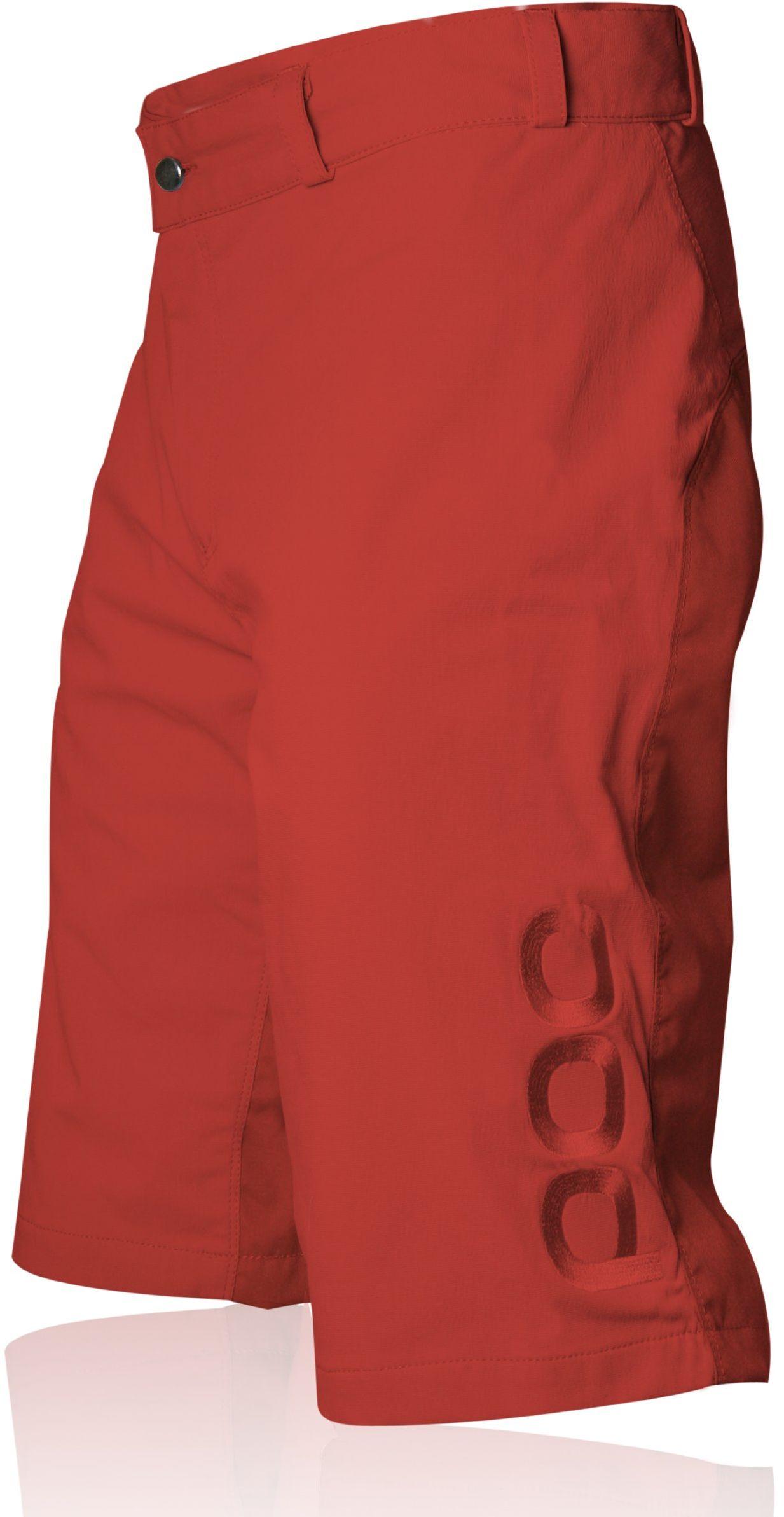 POC Szorty męskie Flow czerwony czerwony S/30