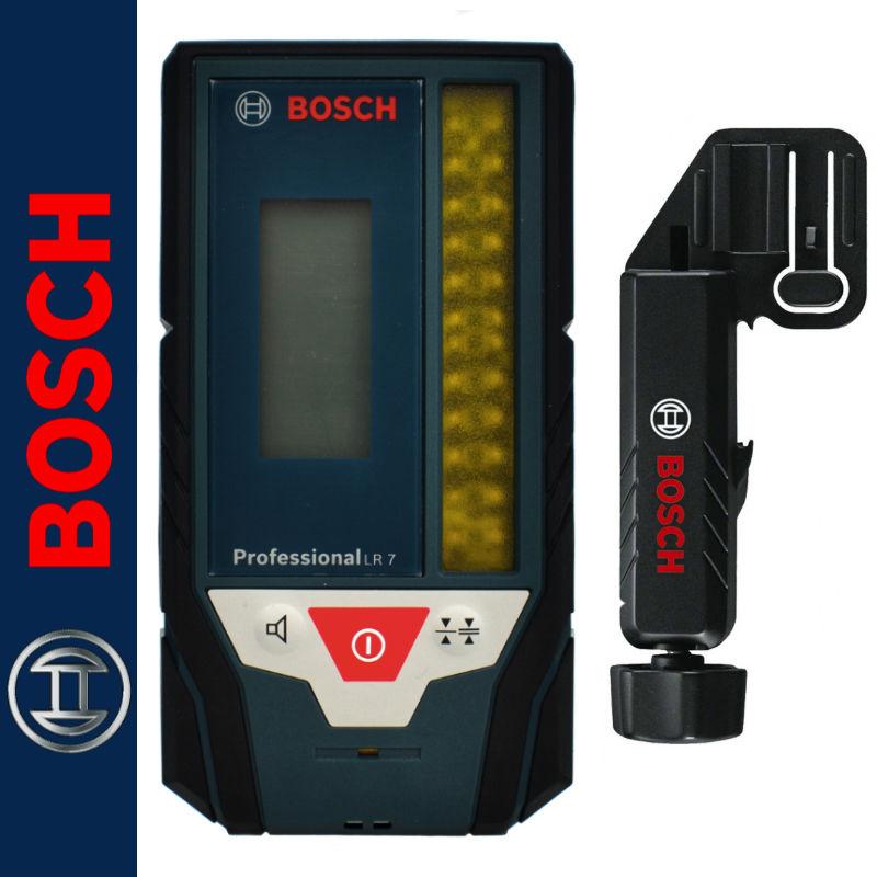 Odbiornik / detektor laserowy do laserów liniowych z uchwytem LR7 BOSCH