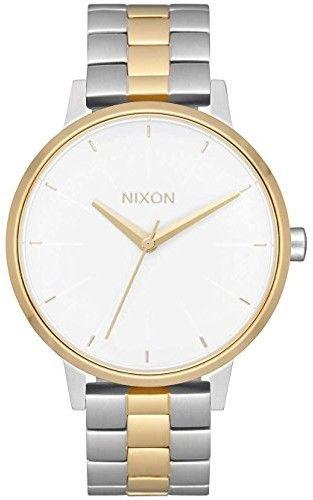 zegarek NIXON - Kensington Silver Gold White (2706) rozmiar: OS