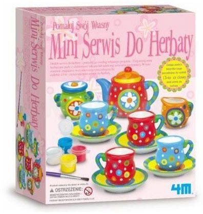 Pomaluj swój serwis do herbaty