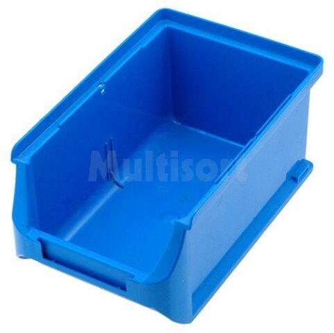 Pojemnik warsztatowy 75x102x160mm niebieski plastik