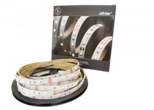 Taśma LED LEDline PRO RGB 150SMD5060 niewodoodporna IP20 ROLKA - 5m.