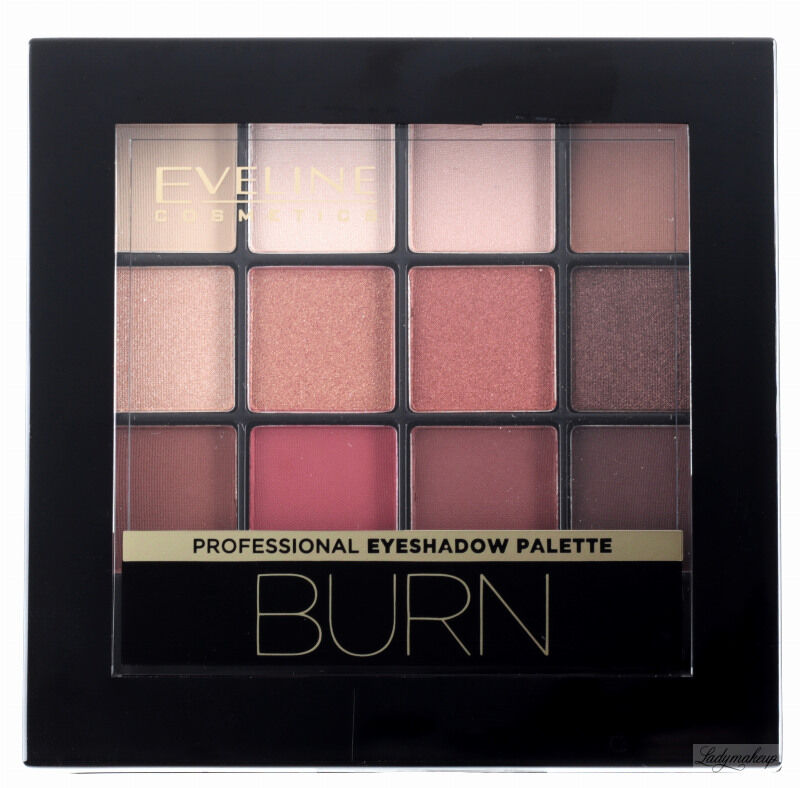EVELINE - All In One Eyeshadow Palette - Paleta 12 cieni do powiek - 03 BURN