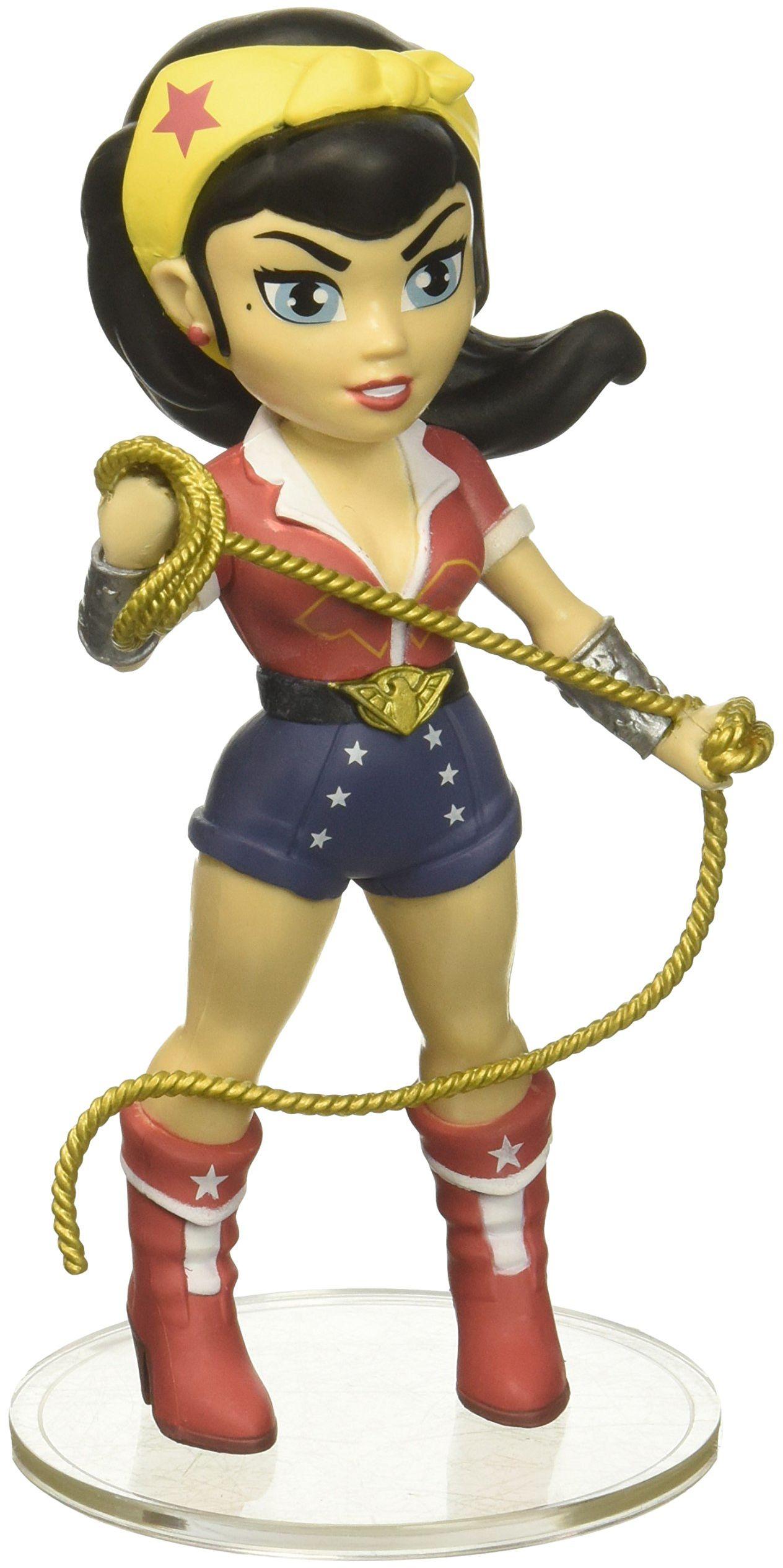 Funko 23775 Rock Candy DC Bombshells Wonder Woman Figurka, wielokolorowa