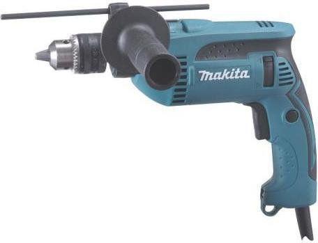 elektryczna jednobiegowa wiertarka udarowa 680W Makita [HP1640K]