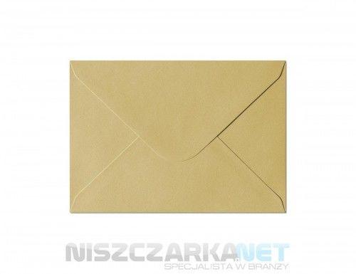 Koperta / koperty ozdobne C6 - opk 10szt 150g/m2 ZŁOTY PERŁOWY