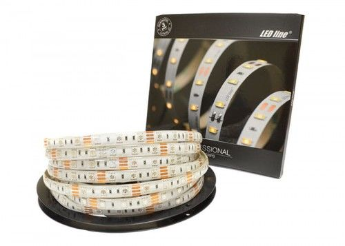 Taśma LED LEDline PRO RGB 300SMD5060 wodood. IP65 - 5m.