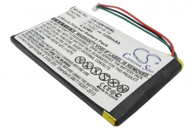 Garmin Nuvi 1690 / 361-00019-14 1250mAh 4.63Wh Li-Polymer 3.7V (Cameron Sino)