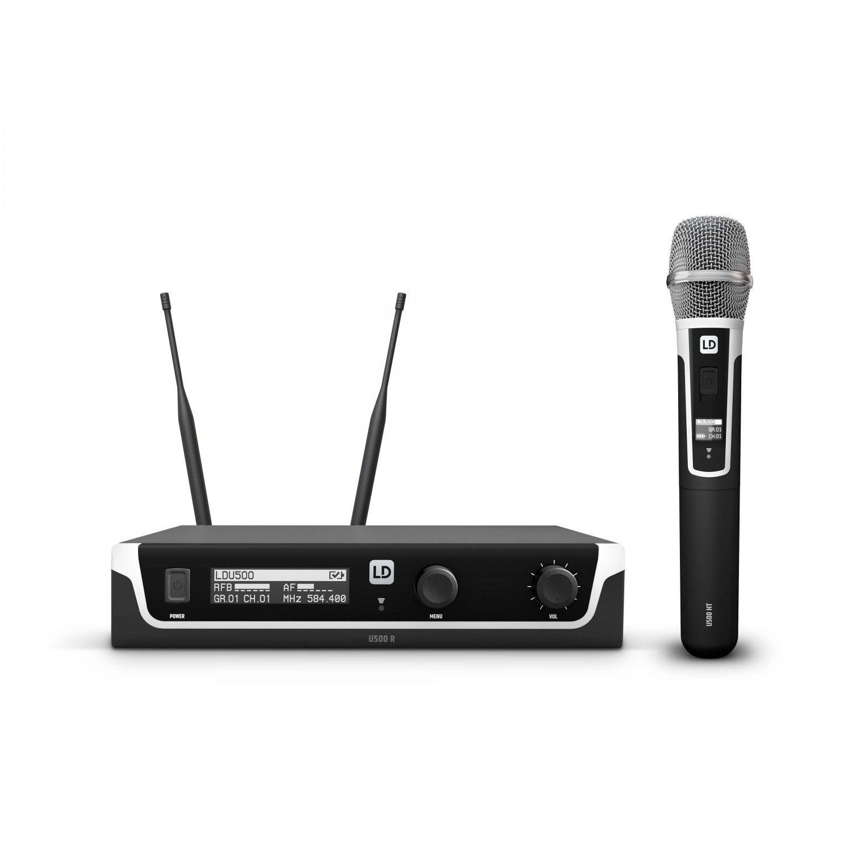 LD Systems U518 HHC - Bezprzewodowy system mikrofonowy z ręcznym mikrofonem pojemnościowym