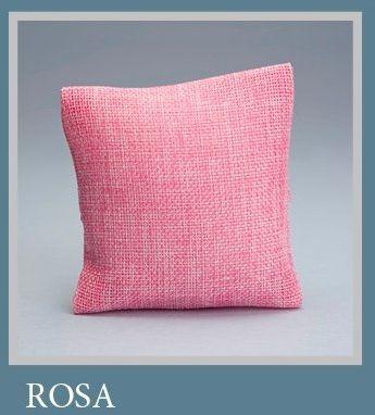 Pianeta Konfetti Bombonierka poduszka ze słodyczami, poduszka jutowa, różowa, 30 sztuk