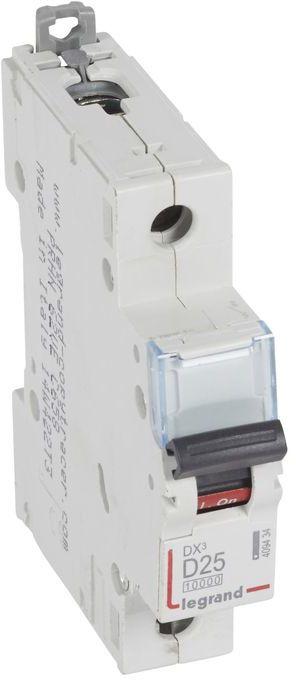 Wyłącznik nadprądowy 1P D 25A 10kA AC S311 DX3 409434