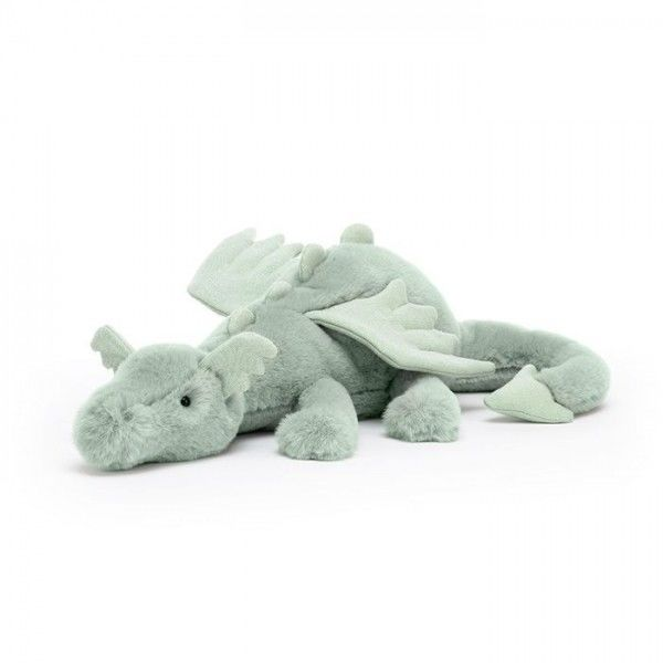 JellyCat - Przytulanka Maskotka Sage Dragon - Smok 12x50 cm