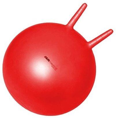 Armedical Piłka rehabilitacyjna dla dzieci HOPPER z rogami 45 cm + pompka Gratis