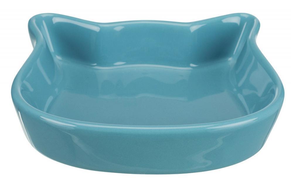 MISKA ceramiczna głowa kota kolor