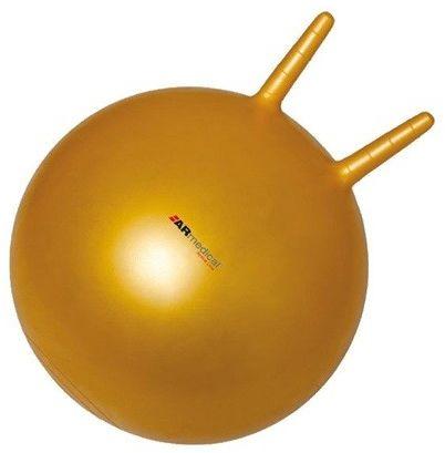 Armedical Piłka rehabilitacyjna dla dzieci HOPPER z rogami 50 cm + pompka Gratis