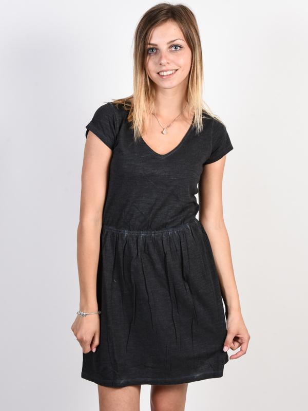 RVCA SHIFTER black krótkie sukienki - L
