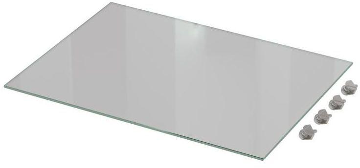 Zestaw półek szklanych 45 cm 2 szt. Delinia iD