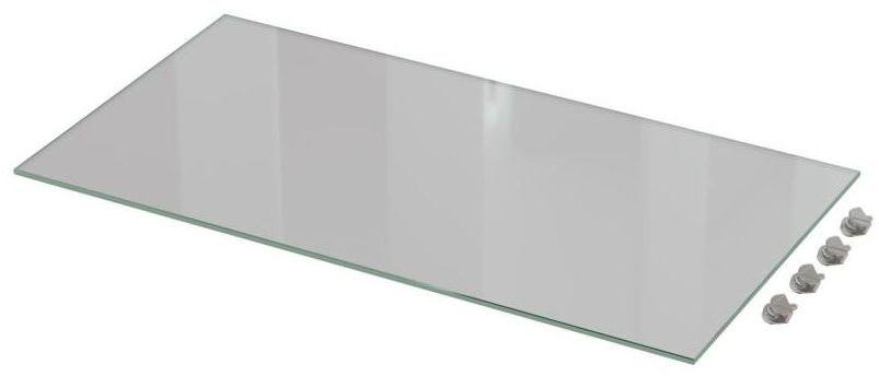 Zestaw półek szklanych 60 cm 2 szt. Delinia iD