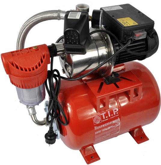 Hydrofor 22l pompa wody INOX zestaw hydroforowy