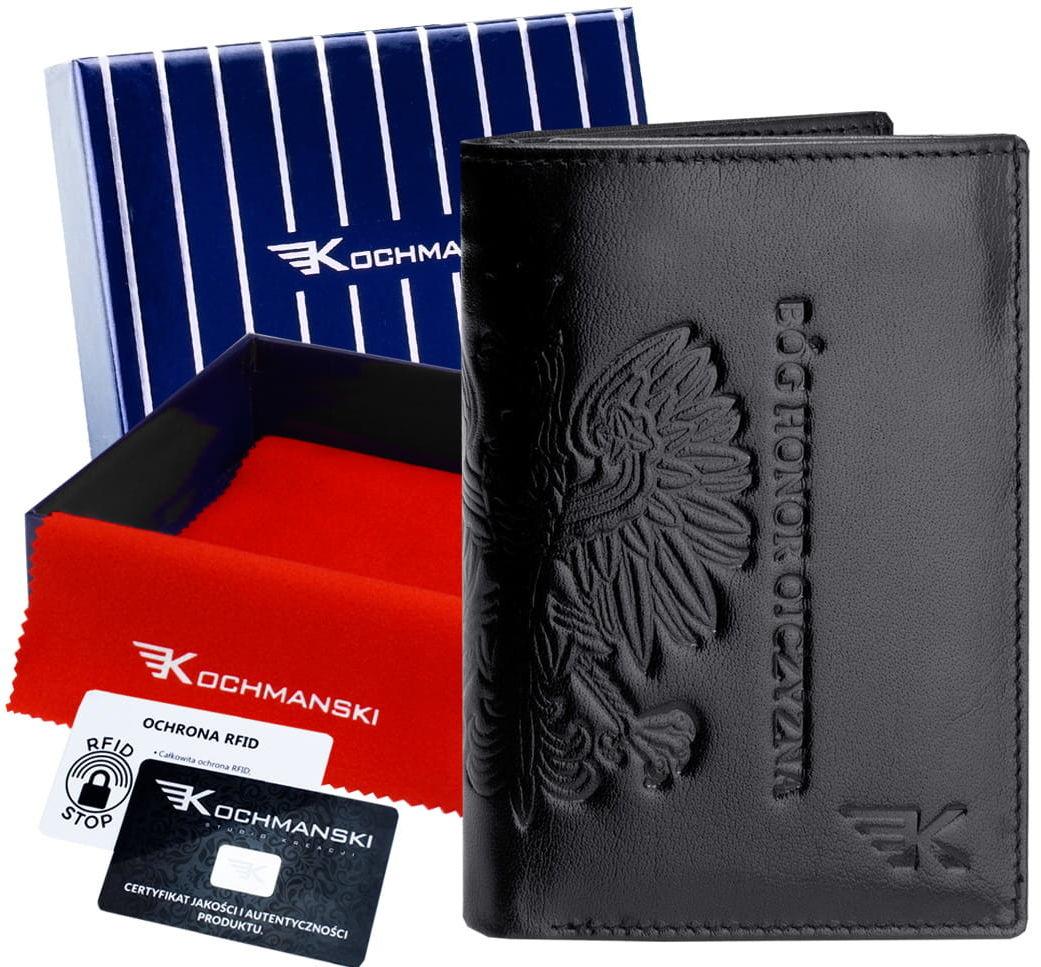 KOCHMANSKI skórzany portfel męski PREMIUM 3046