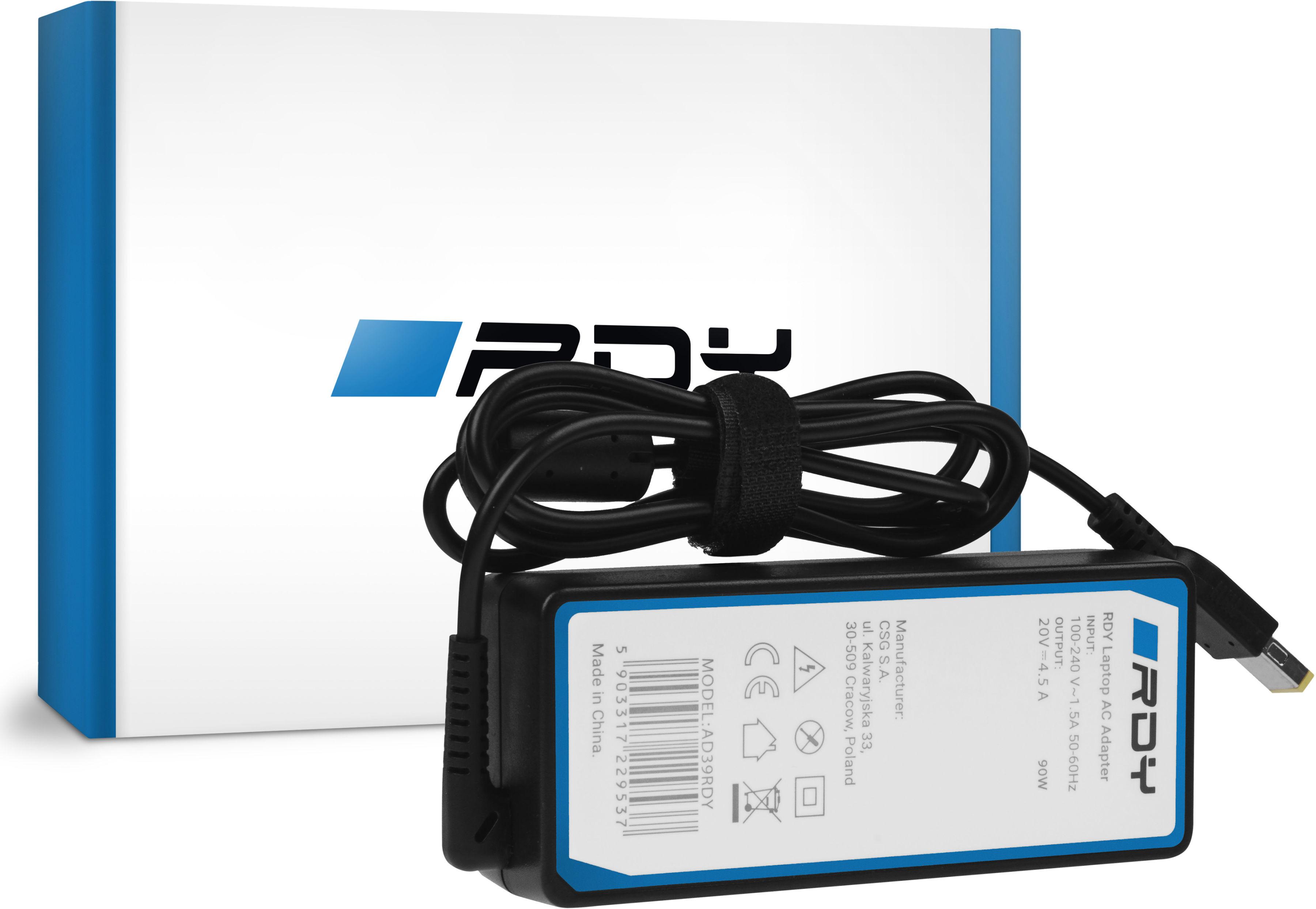 Zasilacz Ładowarka RDY 20V 4.5A 90W do Lenovo G500s G505s G510 G510s Z500 Z510 Z710 Z51 Z51-70 ThinkPad X1 Carbon