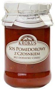 Sos Pomidorowy z Czosnkiem 340g - Krokus