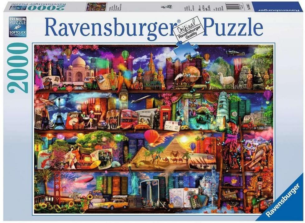 Puzzle 2000 Świat Książek