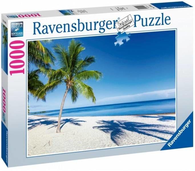 Puzzle 1000 Rajska plaża - Ravensburger