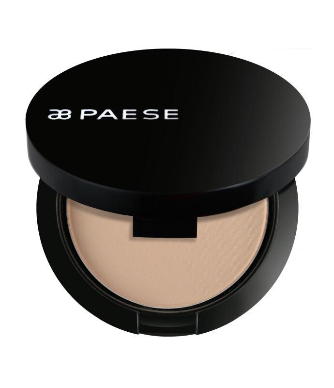 PAESE - Matte powder semitransparent - Puder matujący półtransparentny - 5A - NATURALNY