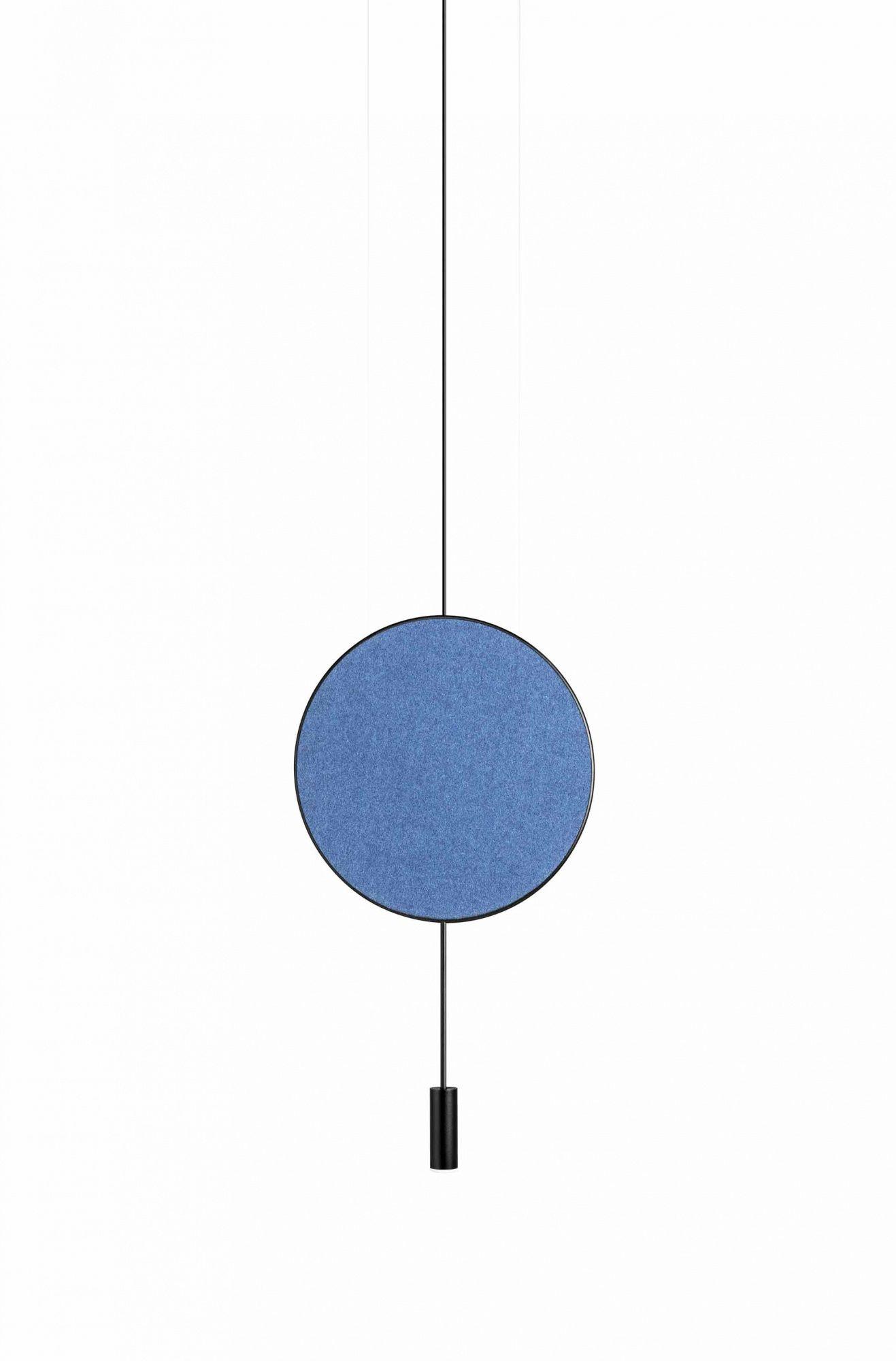 Lampa wisząca Revolta T-3635 Estiluz niebieska oprawa w dekoracyjnym stylu