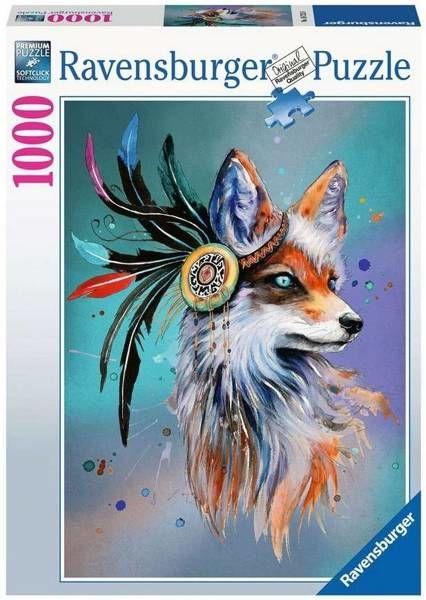 Puzzle 1000 Fantastyczny lis - Ravensburger