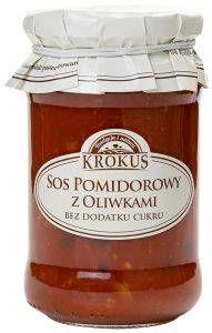 Sos Pomidorowy z Oliwkami 340g - Krokus