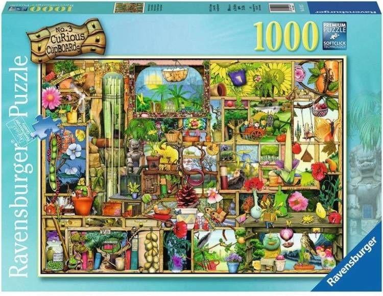 Puzzle 1000 Półka ogrodowa - Ravensburger