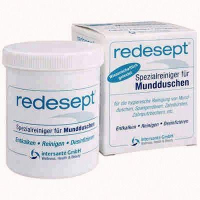 Preparat Redesept 150ml do czyszczenia, dezynfenkcji i odkamieniania irygatorów
