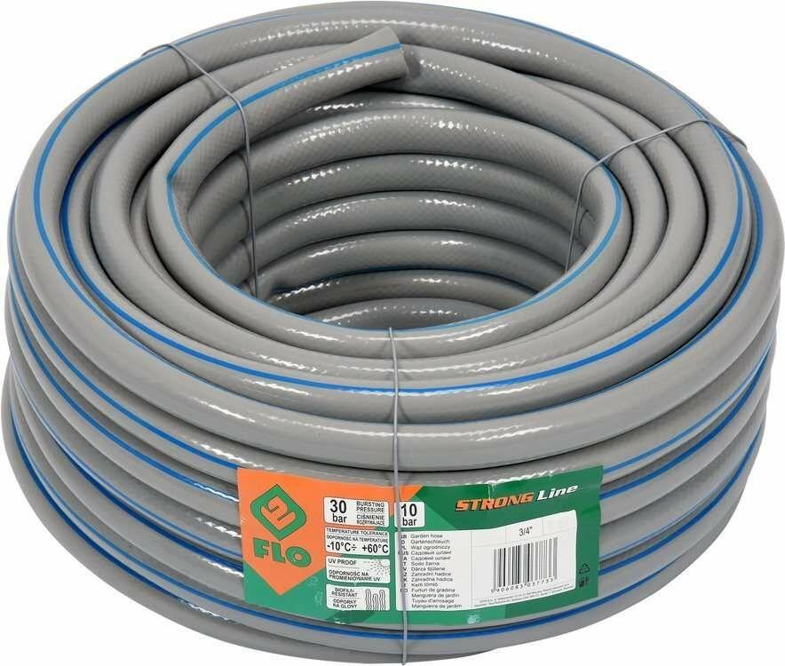 Wąż ogrodowy ogrodniczy Strong Line 3/4cal 20m o zwiększonej Flo 89293 - ZYSKAJ RABAT 30 ZŁ