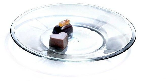Rosendahl - 4 szklane talerze, 20 cm