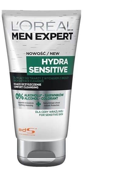 L''Oreal Men Expert Żel kojący do mycia twarzy Hydra Sensitive 100ml