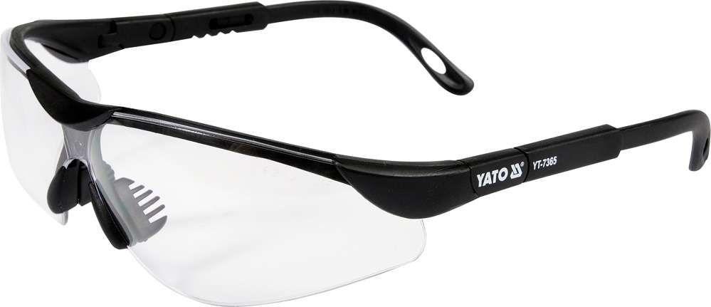 Okulary ochronne bezbarwne Yato YT-7365 - ZYSKAJ RABAT 30 ZŁ