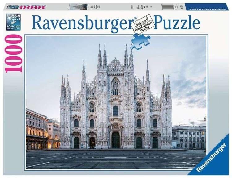 Puzzle 1000 Katedra Duomo, Mediolan - Ravensburger