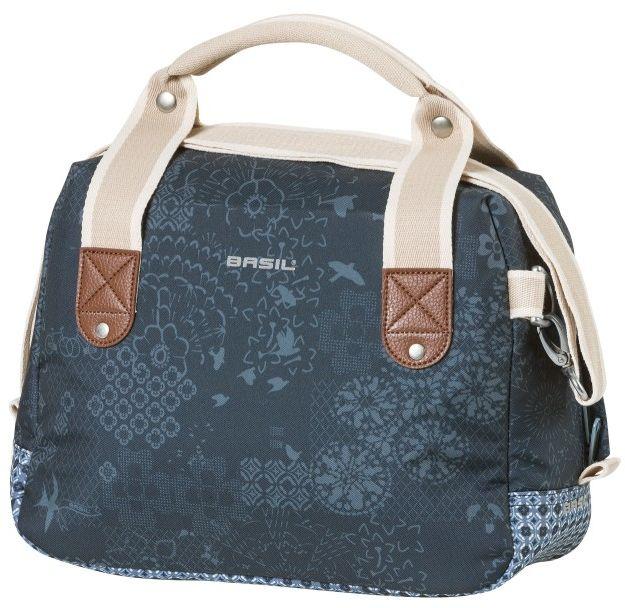 BASIL torba / sakwa na kierownicę boheme city bag kf 8L indigo blue B-18015,8715019180156